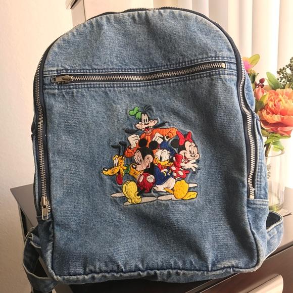 Disney Handbags - Vintage Disney Backpack